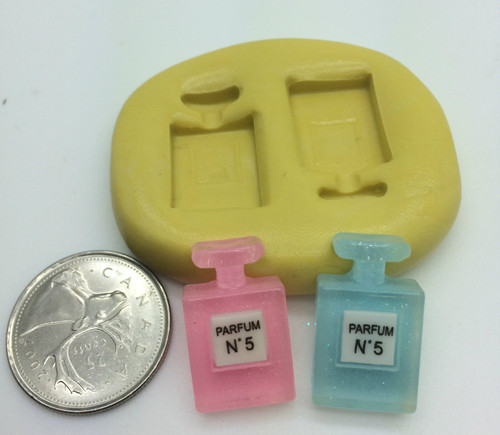 Mini Purfume Bottle Silicone Mold