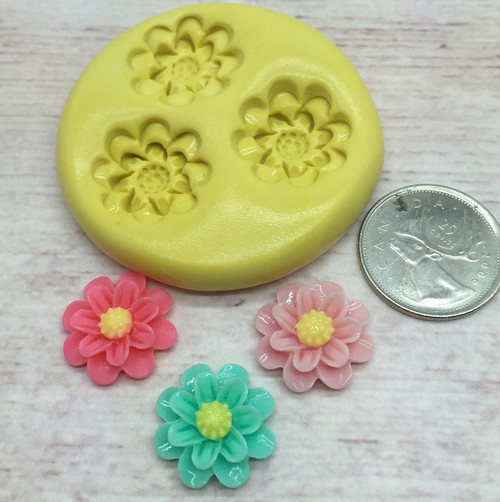 Mini Flower Daisy  Silicone Mold