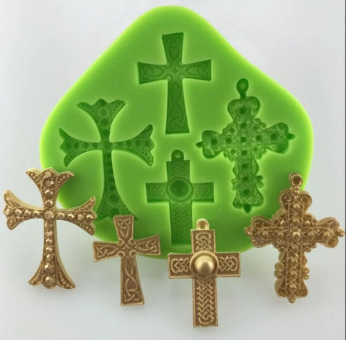 4pc Cross Mold Set - PM263