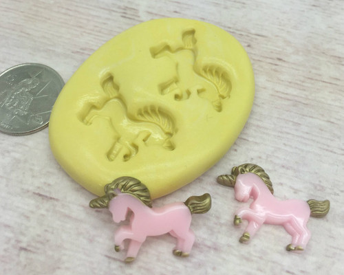 Mini Unicorn Set Silicone Mold