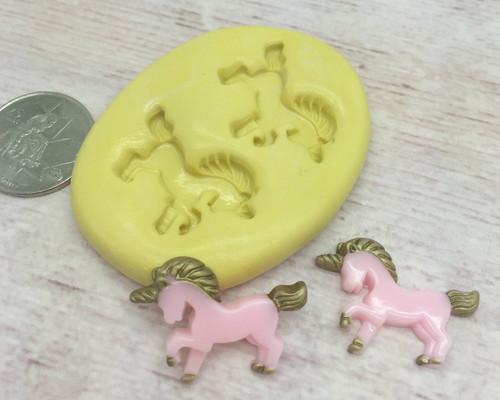 Mini Unicorn Set Silicone Mold