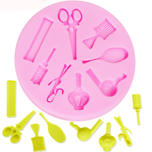 Hair Dresser  Beautician  Silicone Mold Set- PM178
