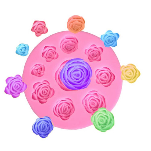 Flower Rose Mold -PM329