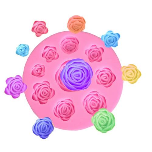 Flower Rose Mold -PM329