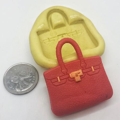 Handbag #6 Purse Mold Silicone