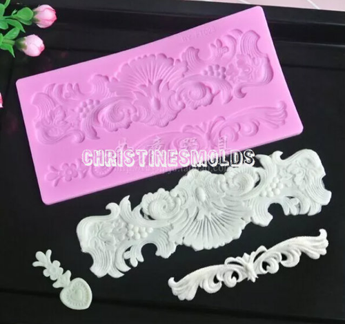 Lace Silicone Mold Set -PM124