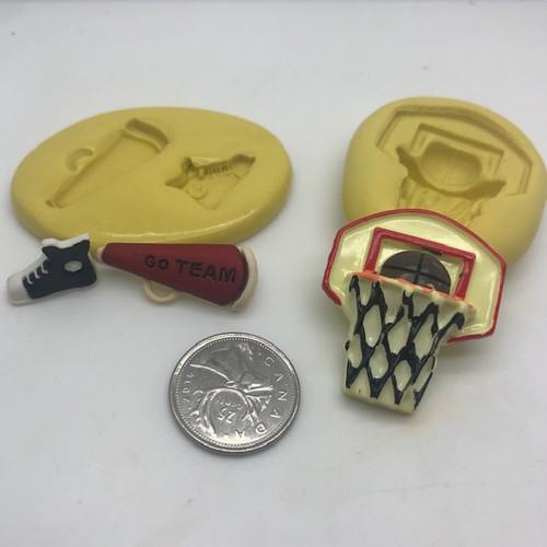Basket Ball Set Molds Silicone