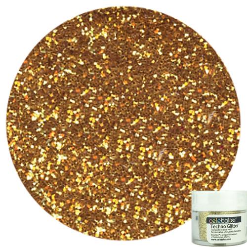 Celebakes Gold Techno Glitter, 5g