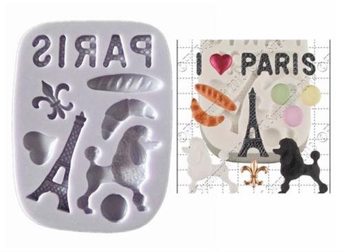 Paris Theme Mold Set pm431
