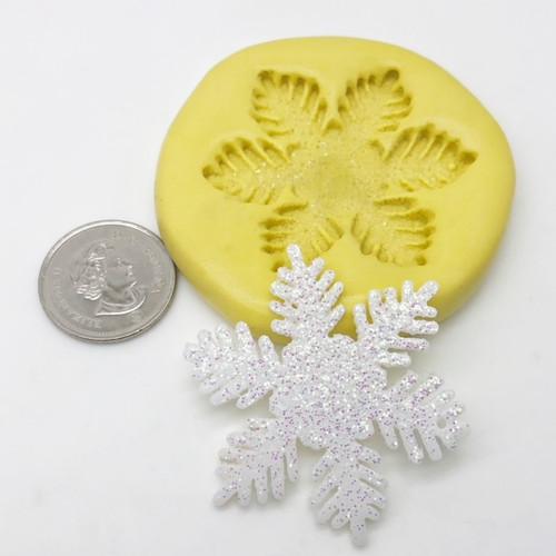 Snow Flake Mold Frozen Silicone
