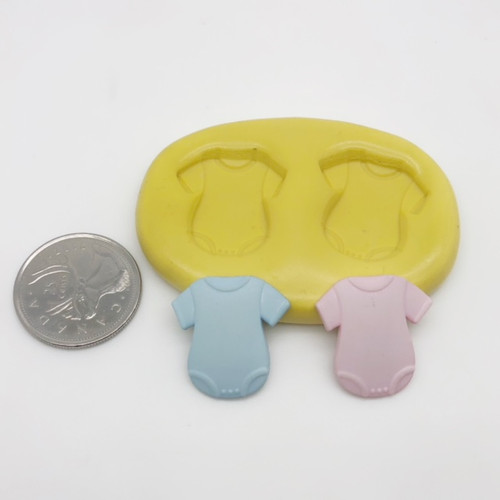 Baby Onsie Shirt Mold Silicone