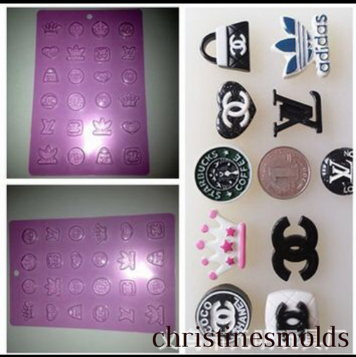 Famous Brand Molds set
