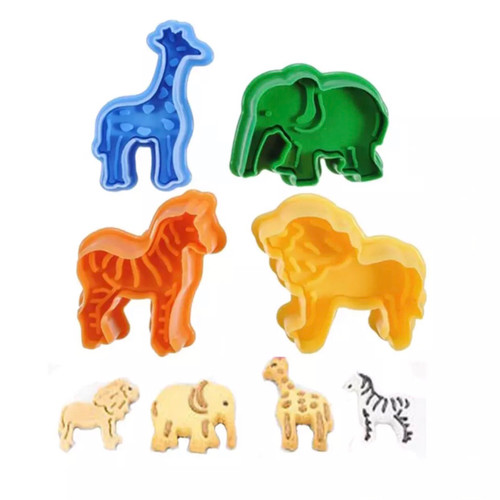 Animal Safari Plunger Set