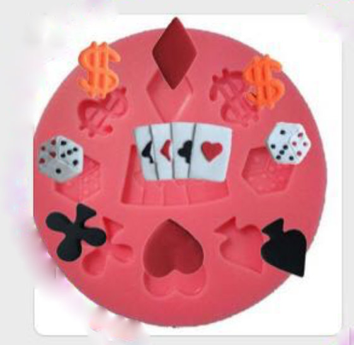 Card  Money Casino Mold PM371