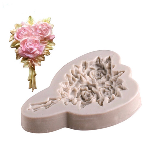 Large Flower Bouquet Silicone Mold - PM256