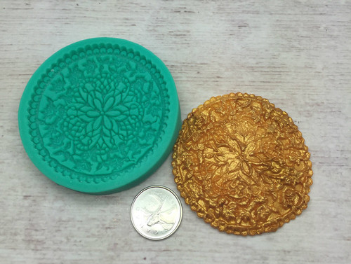 Round Cupcake  Mold -PM271
