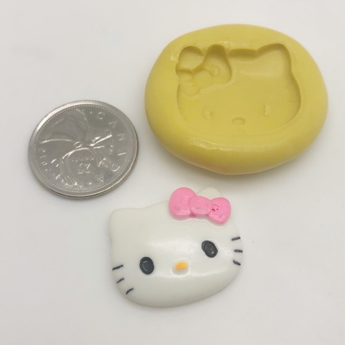 Small  Kitty Mold Silicone