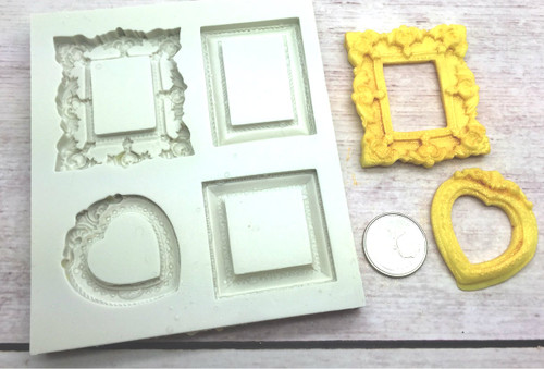 Frame Silicone Mold PM441