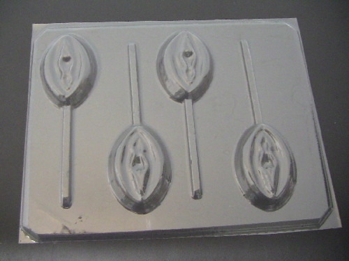 V CHOCOLATE  Lolli Mold  #270