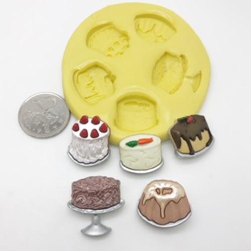 Cake Deserts Molds Silicone