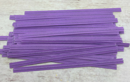Lavender Twist Tie  100pc