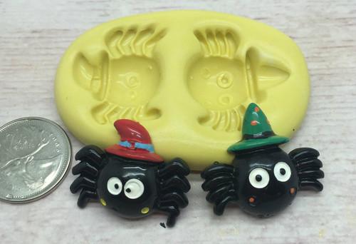 Spider set Halloween Mold Silicone