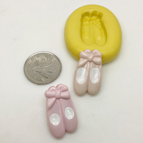 Ballet Shoes silcione Mold