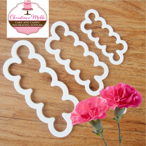 Easy Carnation Cutter Set Small, Medium and Large