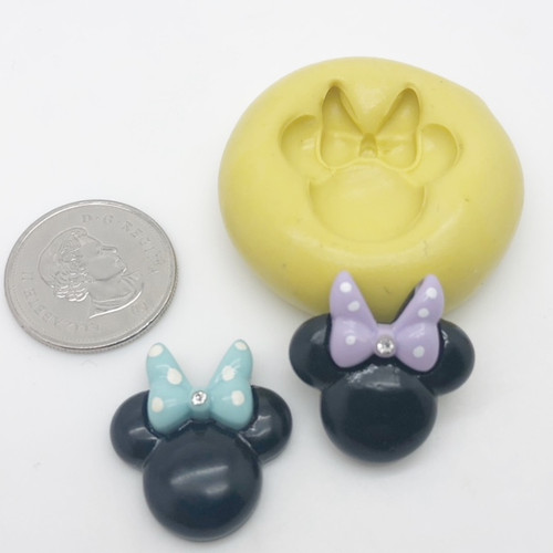 Minnie Mouse Mold Silicone