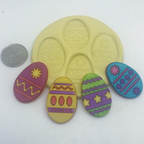 Easter Egg Mold Set Silicone