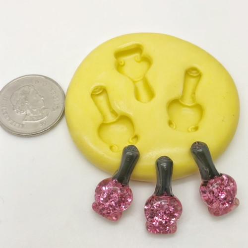 Mini Nail Polish Set  Silicone