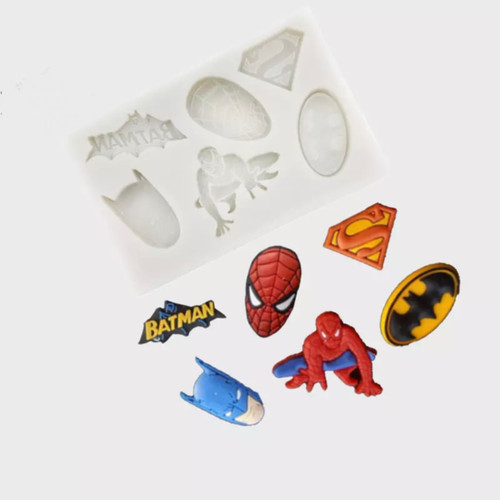 Mini Super hero Mold PM451