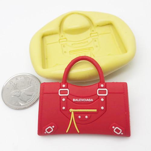 Handbag Purse #11 Mold  Silicone