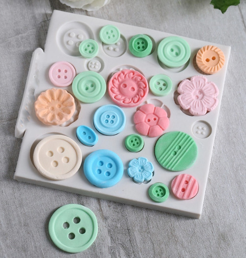 Small Button Mold -PM111