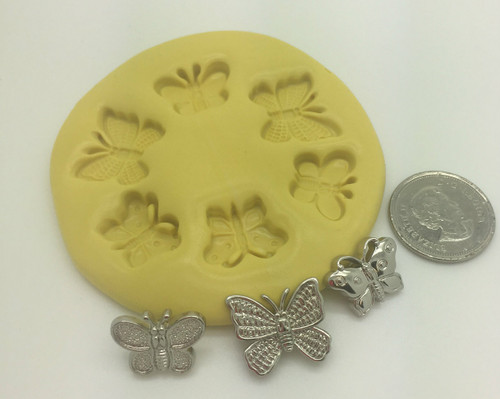 Butterfly  Small  Silicone Mold Set