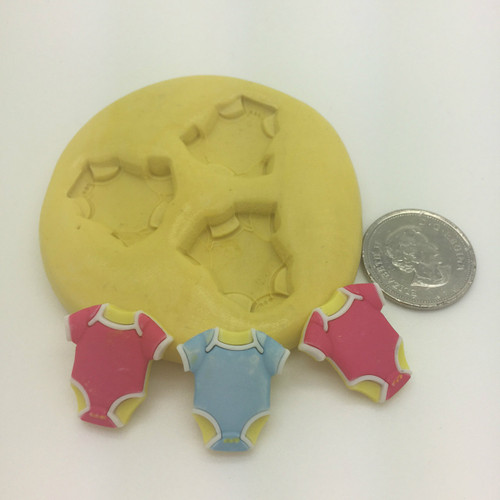 Baby Onsie  Silicone Mold Set