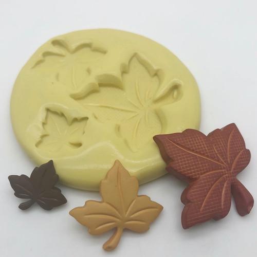 Fall Autumn Leaf set Mold Silicone