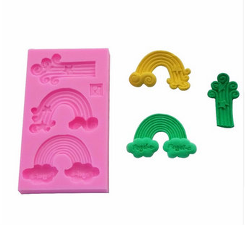 Rainbow   Silicone Mold Set -PM118