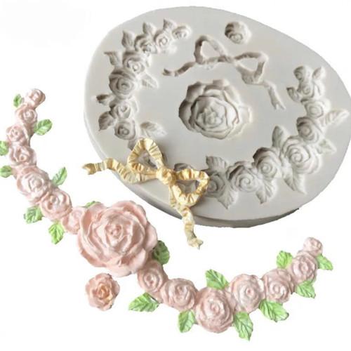Flower decorative Mold PM330