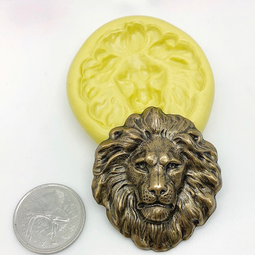XL Lion Head Mold Silicone