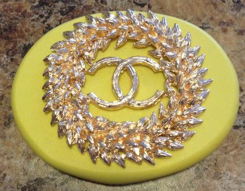 C Wreath Circle  Mold Silicone