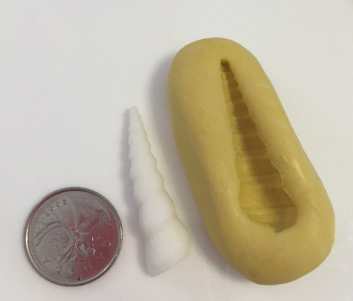 "Unicorn Horn Small 1.5"" Silicone Mold"