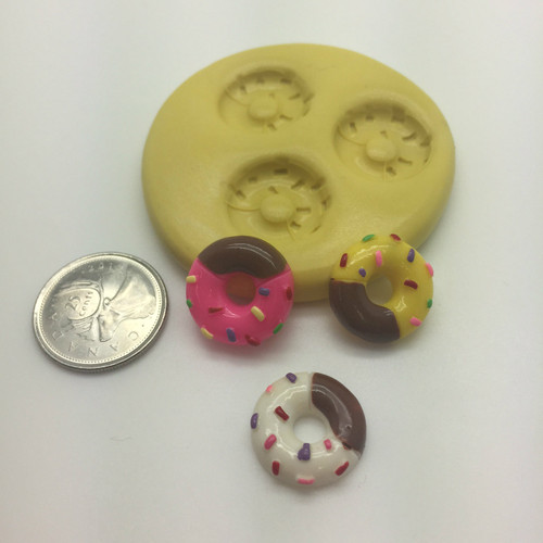 Donuts food    Silicone Mold