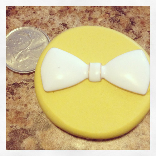 Bow Tie Mold Silicone