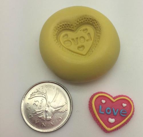 Mini Love  Silicone Mold