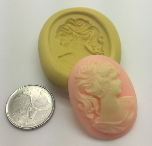 Cameo Lady Silicone Mold