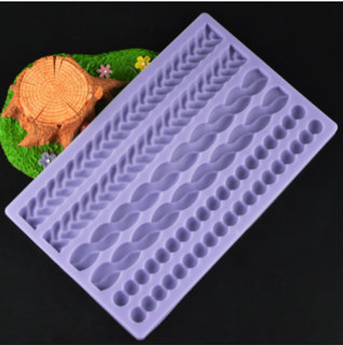 Rope  Silicone Mold Set- PM122