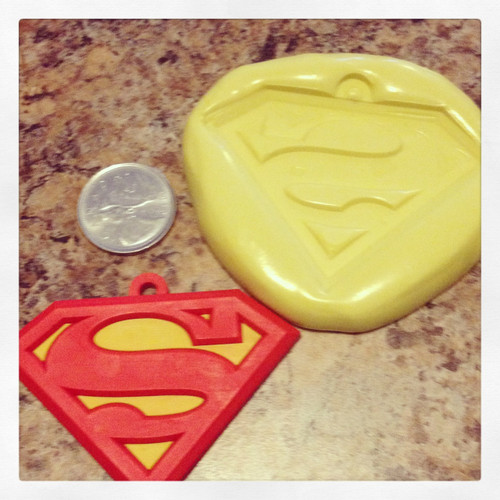 Superman Xl Mold Silicone