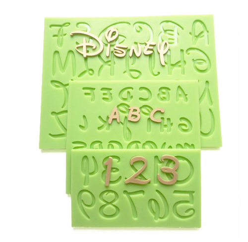 Alphabet & Number Mold P394