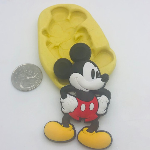 Mickey Mouse Xl Full body Mold  Silicone